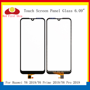 Image 1 - 10 stks/partij Touch Screen Voor Huawei Y6 Prime 2019 Touch Panel Sensor Digitizer Voor Glas Outer Touchscreen GEEN LCD Y6 pro 2019