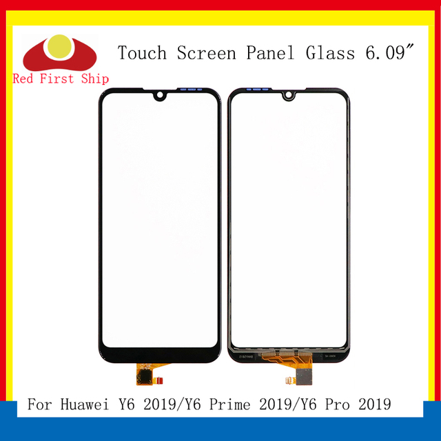 10 stks/partij Touch Screen Voor Huawei Y6 Prime 2019 Touch Panel Sensor Digitizer Voor Glas Outer Touchscreen GEEN LCD Y6 pro 2019