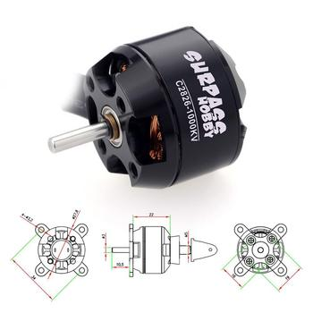 2208(2826) 1000KV 1900KV 14 Poles Brushless Motor for RC 100g-350g Airplane Fixed-wing Glider Warbirds Aircraft image