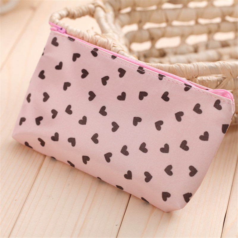 1Pc Woman Mini Cosmetic Make Up Bag Multi-Function Storage Bags For Outdoor Traveling Home Supplies New 4 Colors