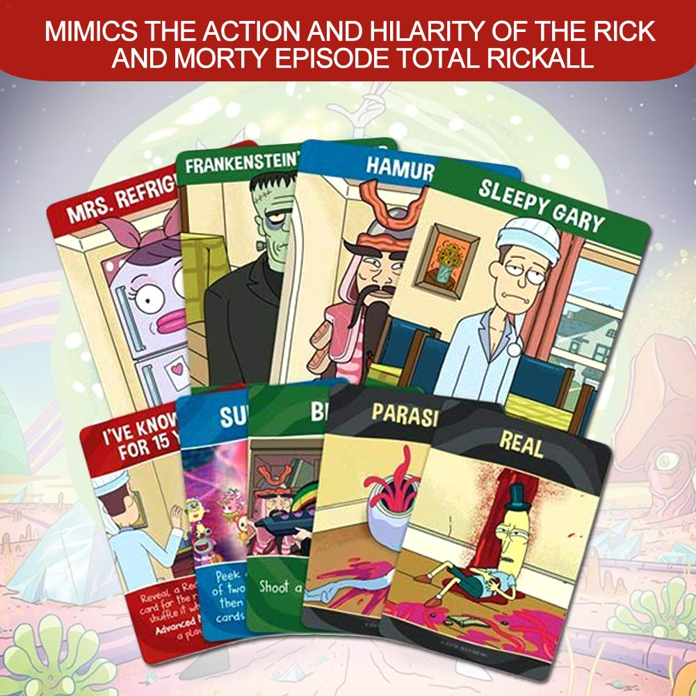 A Collection Of Collaborative Table Card Games For Teens And Adults For Rick And Morty Total Rickall Tarot Cards