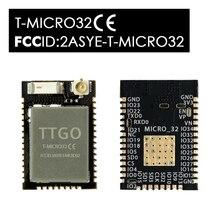 LILYGO®T Micro32 V2.0 واي فاي سماعة لاسلكية تعمل بالبلوتوث وحدة ESP32 PICO D4 IPEX ESP 32