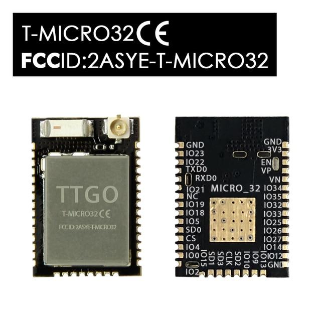 LILYGO®T Micro32 V2.0 Wifi Không Dây Bluetooth Module ESP32 PICO D4 IPEX ESP 32