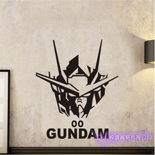 GUNDAM Wall Decal Vinyl Wall Stickers Decal Decor Home Decorative Decoration Anime 00 Gundam Car Sticker car sticker japanese cartoon fans seed gundam raiser vinyl wall stickers decal decor home decoration