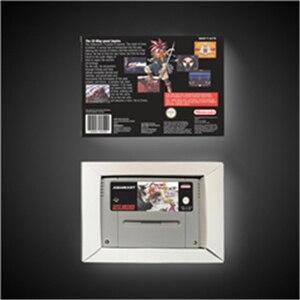 Image 5 - Chrono Trigger   EUR Versione RPG Gioco di Carte Risparmio Batteria Con La Scatola Al Minuto