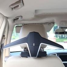 Portable Car Coat Auto Headrest Hanger Hook for Multi-purpose Storage Car Bags Interior Organizer Decoration Accessories F19A