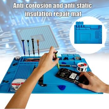 Phone Repair Mat Maintenance Station Anti-Corrosion Anti-Static Heat Insulation Pad QP2