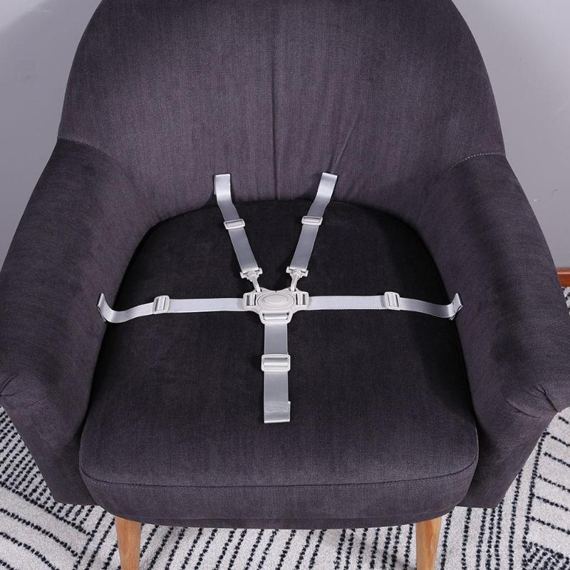 Universal Baby Dining Chair Safety Seat Belts Portable Waterproof 5 Point Harness For Stroller Accessories