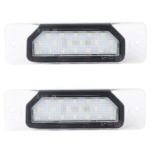Автомобильный светодиодный светильник номерного знака подходит для Infiniti Fx35 Fx45 Q45 I30 I35 Q70 автомобильные аксессуары