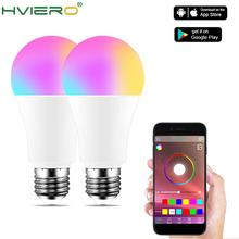 Wireless Bluetooth 4.0 Smart Bulb home Lighting lamp 10W E27 Magic RGB +W LED Change Color Light Bulb Dimmable IOS /Android LED 1 x mi light ac86 265v e27 9w cw ww led lamp color temperature dimmable led bulb 1 x 2 4g wireless ios android wifi controller