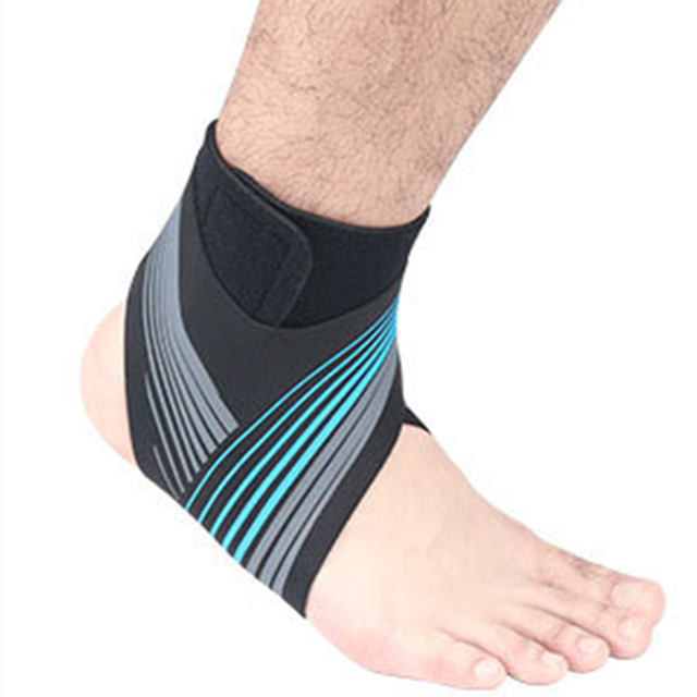 Adjustable Elastic Ankle Sleeve High Elastic Ankle Brace Guard Foot Support Sports Belt Sweat Absorb 2