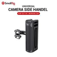 SmallRig DSLR Cámara agarre de mano de aluminio mango lateral Universal con agujeros de montaje y zapato frío fr micrófono DIY opciones 2425