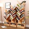 Regał podłogowy kreatywne badanie regał drzewo rack kombinacja krata do przechowywania w szafce stojak wystawowy