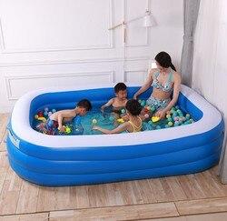 Aufblasbare Schwimmen Pool Tragbare Outdoor kinder Baden Pool Indoor Aufblasbare Pool