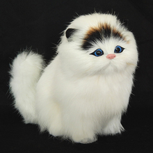 Real hair Electronic Pets Cats Dolls Simulation animal cat t