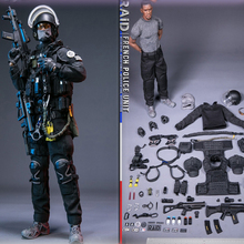Spot For Collection NO.78061 1/6 Scale FRENCH POLICE UNIT-RAID IN PARIS Whole Set Action Figure Wepaon Model for Fans Gifts 2 pcs set 1 6 fd002 french bulldog 3 0 canis familiaris black pet dog model f collection 6 colors for 1 6 action figure