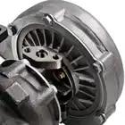 400 + hp T04E Универсальный турбонагнетатель W/выпускной коллектор для BMW E36 M3 I6 92 99 4AN + Turbo brasdied подача масла Inlien Line Kit - 3