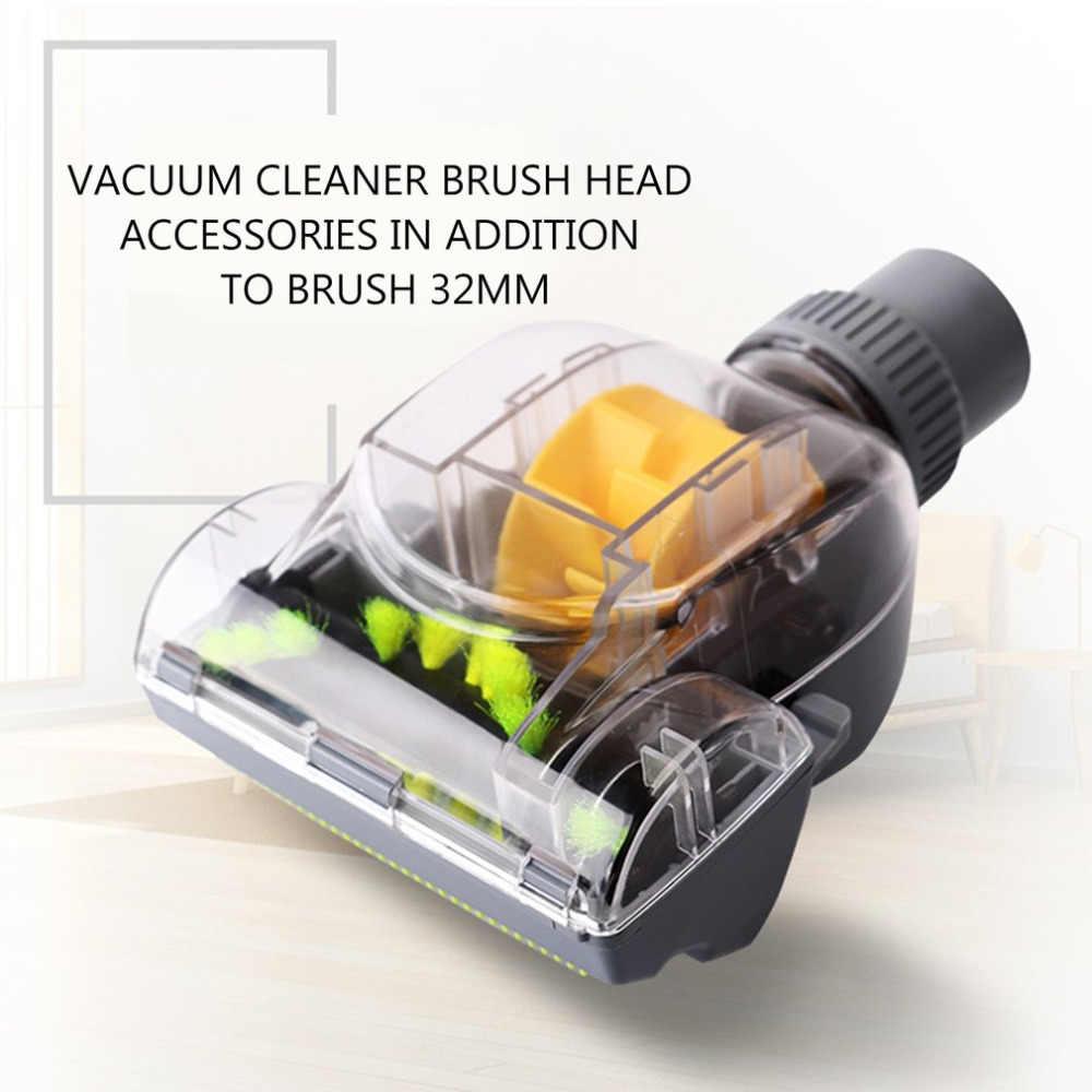 Baru Vacuum Cleaner Sikat Rumah Tangga 32 Mm Vacuum Cleaner Turbo Lantai Aksesoris Mini Turbo Lantai Sikat untuk Rambut Hewan Peliharaan Kotoran penghapusan