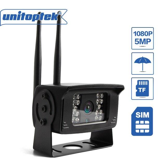 Беспроводная камера видеонаблюдения 3G, 4G, Sim карта, 1080P, 5 Мп