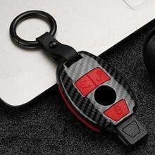 ABS+ силиконовый чехол для ключей от машины крышка для Mercedes benz AMG W203 W211 W204 W205 W212 CLK CLS CLA GL R SLK A B C S класс аксессуары