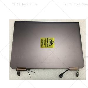 Image 5 - ЖК дисплей 13,3 дюйма с сенсорным дигитайзером в сборе для ноутбука HP Spectre x360 2 в 1 13 ap, полностью верхние части