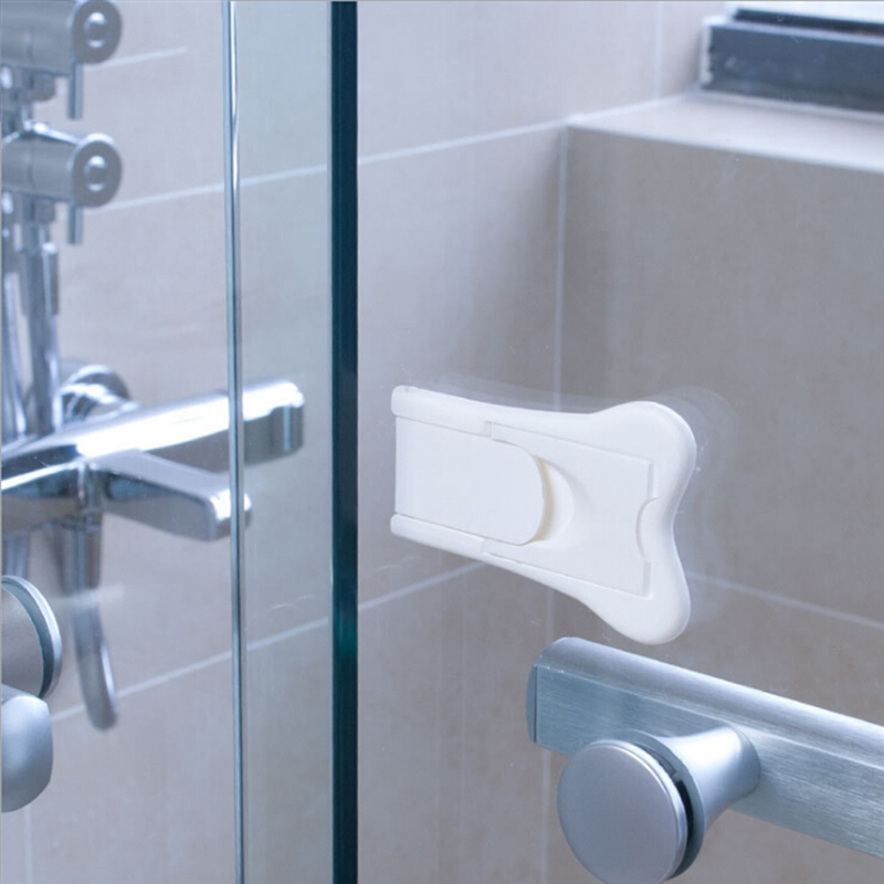 Baby Safety Lock For Sliding Door Window Kid Protection Lock Multifunctional Drawer Cabinet Door Anti-Pinch Kids Safety Lock