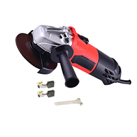 Heavy Duty Cut Angle Grinder Household Impact Drill Kit Wrench +Carbon Brush Wood Furniture Finishing