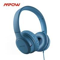 Mpow CHE2 Kinder Kopfhörer 3,5mm Wired Headset mit Volumen Grenze Weiche Ohrenschützer Faltbare Kinder Stereo-hedphone für Kinder Teenager Schule