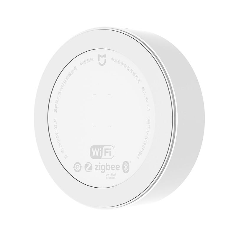 lowest price Xiaomi Smart Multifunctional Gateway 3 Bluetooth Zigbee WiFi Remote Control RGB Radio Home Security Device Support Apple Homekit