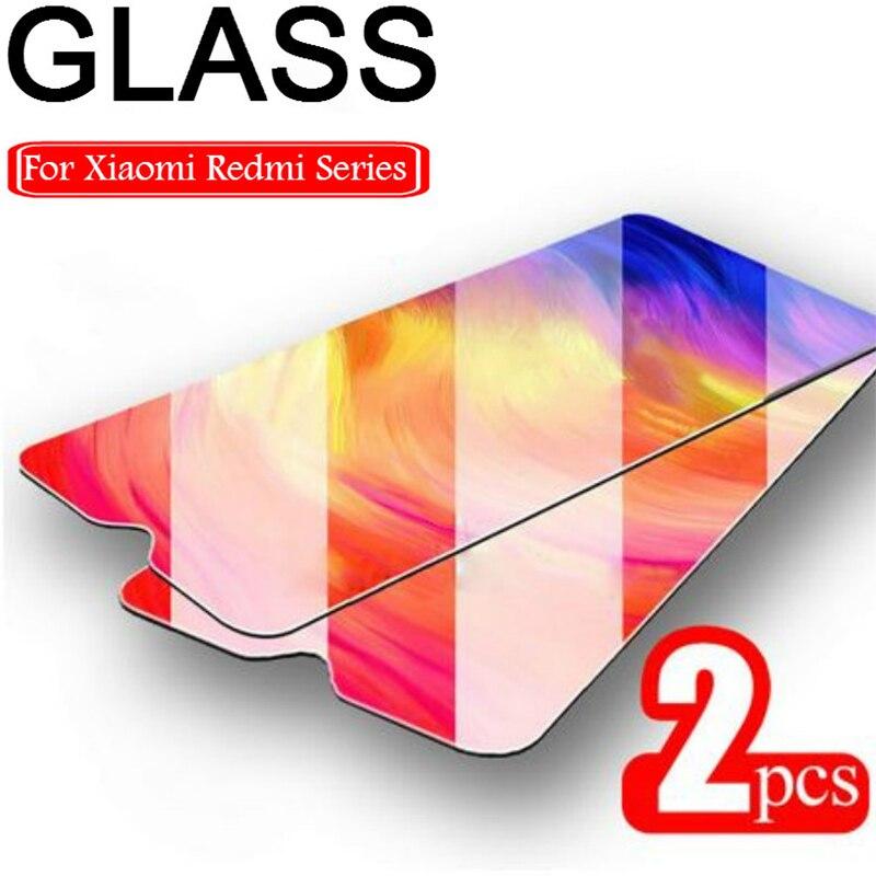 2 قطعة زجاج واقي ل Redmi 8 8A 7 7A 5 زائد المقسى زجاج عليه طبقة غشاء رقيقة واقي للشاشة ل Xiaomi Redmi K20 برو 6 برو 5A 6A 9H HD