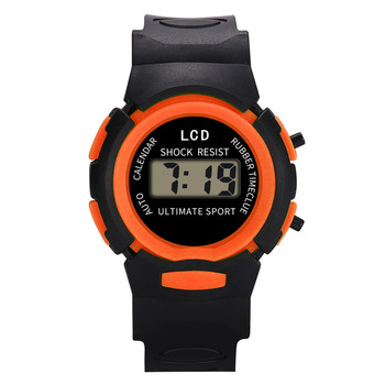 Hot Sale Children Girls Digital Sport watches LED Electronic Waterproof Wrist Watch High Quality New kids school Erkek Kol Saati image