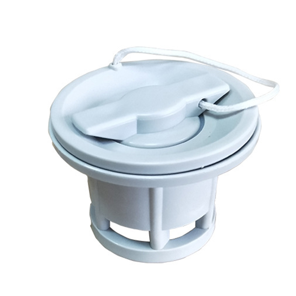 6 Holes Raft Dinghy Kayak  Inflatable Boat Accessories Water Sports PVC Secure Easy Install Adapter Cap Connect