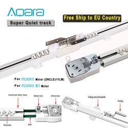 Voie de rideau électrique Super silencieuse de pays de l'ue pour le moteur d'aqara B1, système de contrôle intelligent de Rail de rideau d'aqara, application à la maison d'aqara