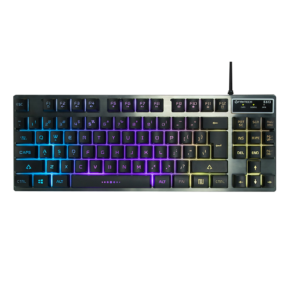 Fantech K613 Professional Usb Game Backlit Keyboard 87-Key Wired Game Keyboard