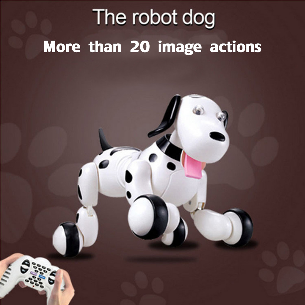 Machine Dog 2.4G Wireless Remote Control Smart Dog Programmable Electronic Pet Children's Educational Robot Toy