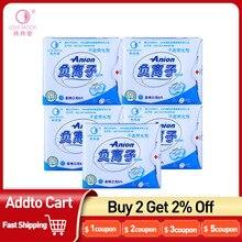 Anion-Pads Winalite Menstrual Period Sanitary-Napkin Moon Feminine-Hygiene Love 5packs