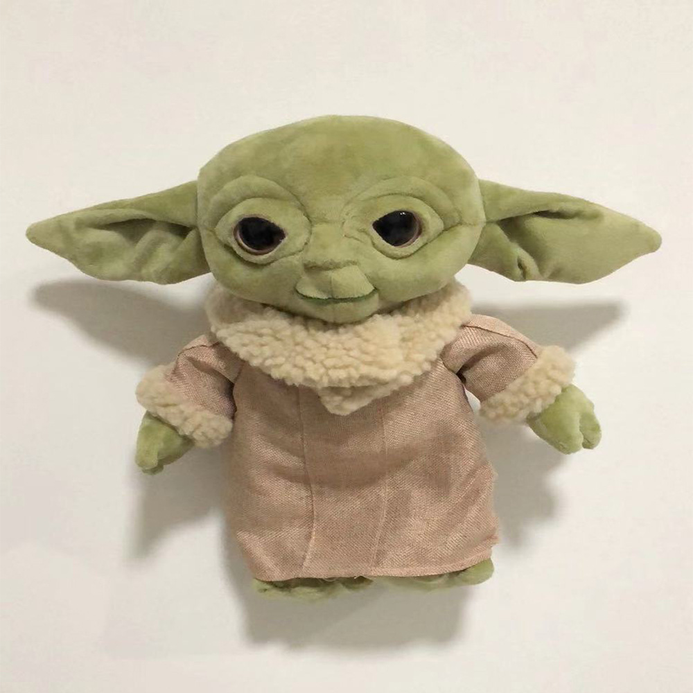 Online Shop 30cm Baby Yoda Plush Toys Soft Animals Stuffed Dolls For Kid Birthday Gift Aliexpress Mobile