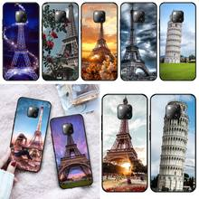 Tower of Pisa Phone Case Cover For Huawei Mate 9 10 10Lite 20 20X 10Pro 20Pro 20Lite Enjoy 9Plus 10Plus italian flag style graffiti leaning tower of pisa pattern case for samsung s6812 s6810 green