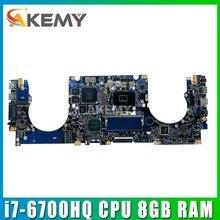 Placa base N501VW i7-6700HQ CPU 8GB RAM GTX960M placa base para ASUS N501V N501VW UX501VW G501V VW placa base para portátil probada OK