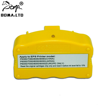 BOMA.LTD Original Cartridges Chip Resetter For EPSON SureColor P6000 P7000 P8000 P9000 P6050 P7050 P8050 P9050 P7000V P9000V STD chip reset for epson gs 6000 ink resetter with pro gs6000 chip resetter