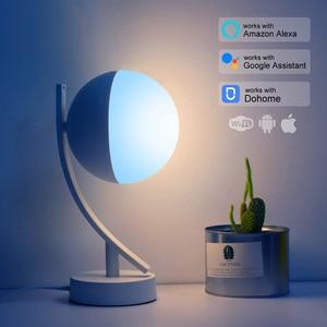Image 2 - Tuya Smart APP WiFi Schreibtisch Lampe 16 Millionen Farbe Drahtlose Steuerung Timer Alexa Kompatibel Nacht Licht RGB Dimmbare für Smart hause