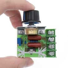 AC 220V 2000W SCR Voltage Regulator Dimming Dimmers Motor Sp