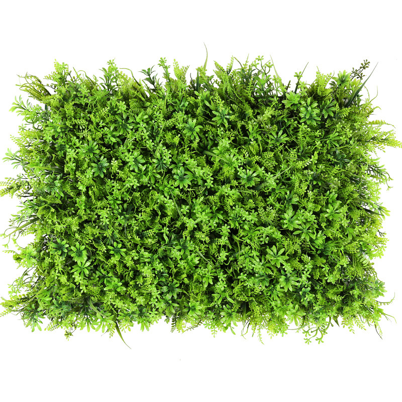 40x60cm Artificial Green Plant Lawns Carpet for Home Garden Wall Landscaping Green Plastic Lawn Door Shop Backdrop Image Grass-2