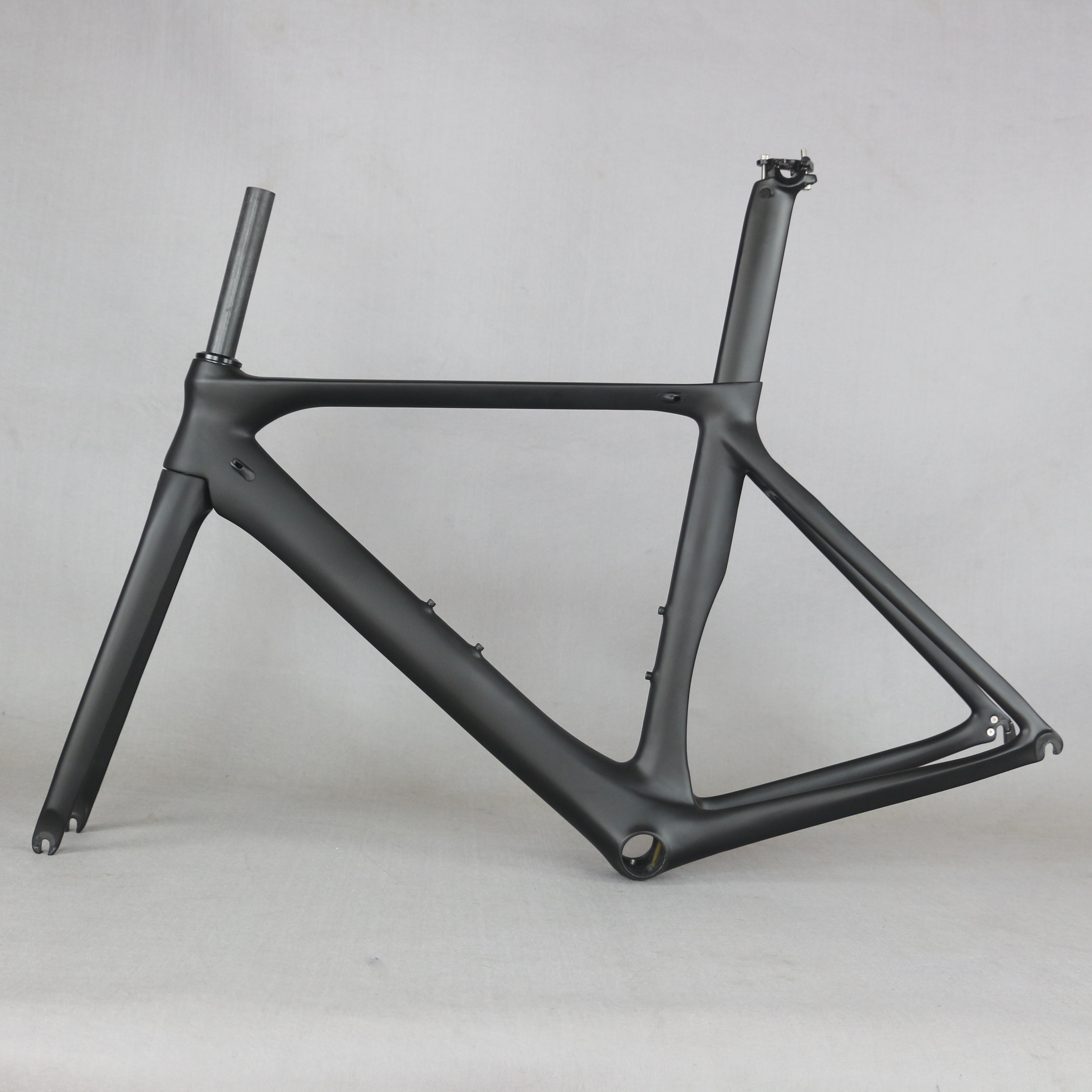 2020 New Carbon Road Bike Frame  Road Cycling Bicycle Frameset  Oem Brand Frame Clearance Frame Fork Seatpost Carbon Frame