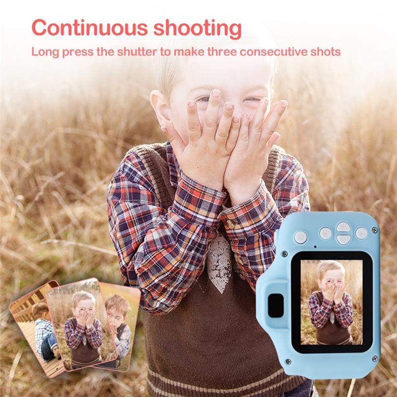 Kids Digital Camera 2 Inch HD Screen Cartoon Cameras Video Recorder Camcorder Children s Birthday Gift