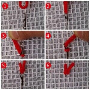 Image 5 - חי פרא כרית וו תפס ערכת כרית מחצלת DIY קרפט פרח 42CM 42CM צלב סטיץ רקמה סורגת כרית רקמה