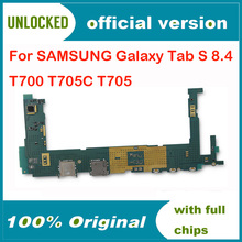 Ue wersja oryginalna pełna praca odblokować płyta główna dla Samsung Galaxy Tab S 8 4 T700 T705C T705 płyta główna WIFI elektroniczny Panel tanie tanio Wewnętrzny For Samsung Galaxy Tab S 8 4 T700 T705C T705 motherboard Original unlocked Disassemble and used In Stock Shenzhen Guangdong China(mainland)