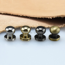 6 стилей кошелек сумка Винт латунный ремень заклепки кобурная Кнопка главный монах DIY кожа ручной работы чехол для ключей аппаратная часть