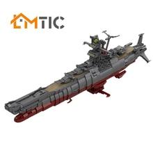 Toys Bricks Yamato Building-Blocks Collection Star-Series MOC Wars-Space-Battleship Kids