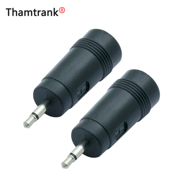 1pc MONO 2.5mm Jack Male Plug to DC Power Connector 5.5x2.1mm Female Jack Socket Adapter High quality Plastic adaptor converter image